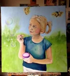 Amanda Hunt bubbles