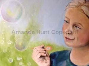 Amanda Hunt closeup