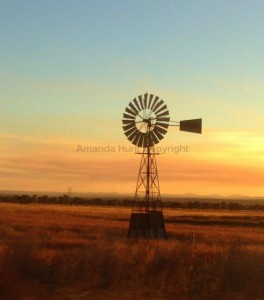 Amanda Hunt windmill