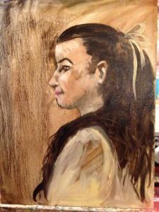 Amanda Hunt painting