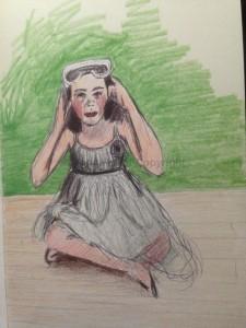 Amanda Hunt sketch