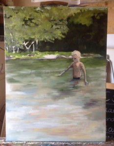 Amanda Hunt into the river 3