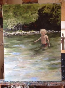 Amanda Hunt into the river 5