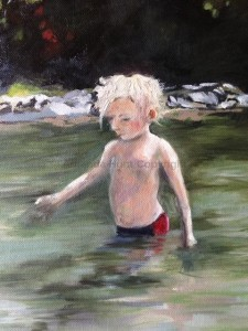 Amanda Hunt into the river 6
