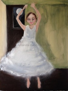 Amanda Hunt twirl