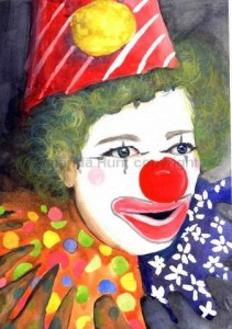 Amanda Hunt clown2
